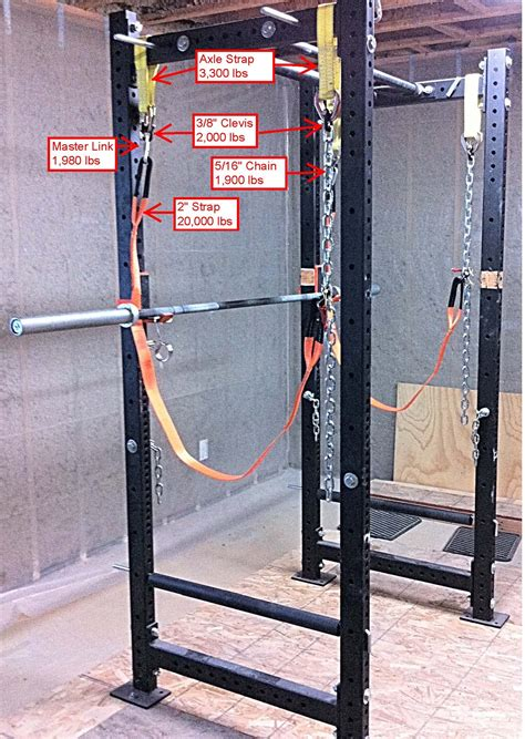 bench press safety straps bench press safety straps power rack safety straps garage