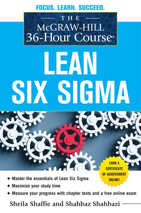 six four a novel books the mcgraw hill 36 hour course lean six sigma processarc
