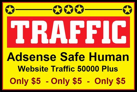 adsense facebook traffic 50000 real visitors to your website or blog to boost