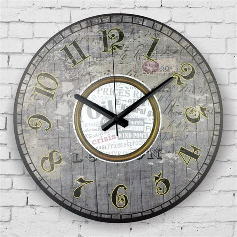 decorative clock retro silent wall clock vintage home decor large