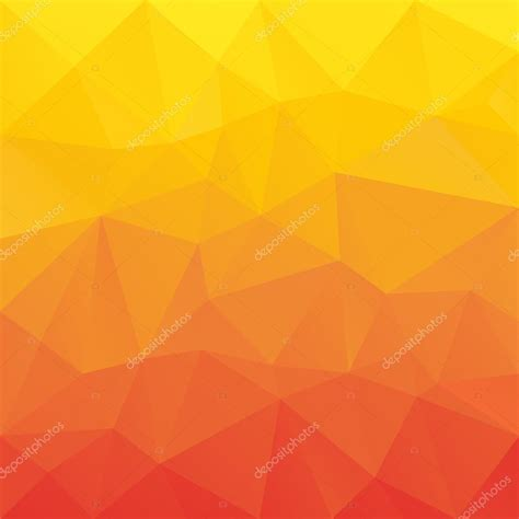 abstract pattern orange vector abstract irregular polygon background with a