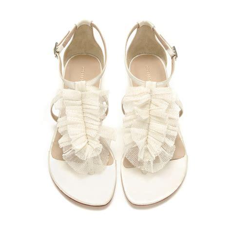 Hochzeitsschuhe Flacher Absatz by 2011 Loeffler Randall Wedding Shoes Sandals