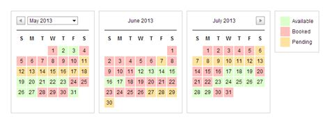 availability calendar template availability calendar images create an availability