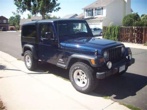 jeep wrangler lj hardtop purchase used 2006 jeep wrangler unlimited lj tju with