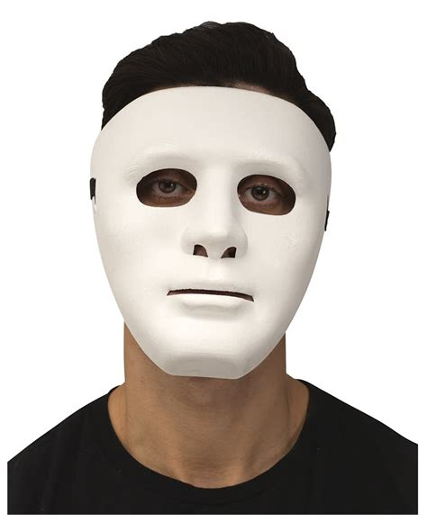 White Mud Mask Naturgo White Mask mask white accessory horror shop