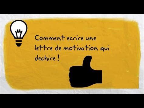 Lettre Stage De Troisieme comment ecrire une lettre de motivation qui dechire