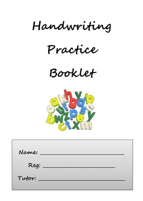 printable handwriting worksheets ks3 carwyn davies profile tes