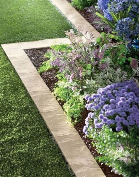 flower bed borders flower bed paver edging 10739