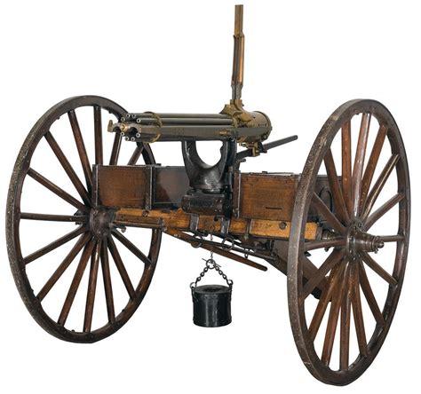 Gasing Cannon colt 1897 gatling gun rifle firearms auction lot 1270