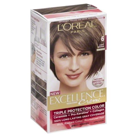 L Oreal Excellence l oreal excellence 6 light brown