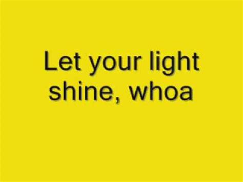 In Your Light Lyrics by Hillsong Let Your Light Shine Lyric