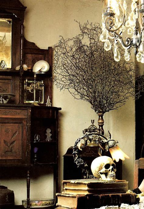 macabre home decor 13 dramatic gothic room design and style suggestions