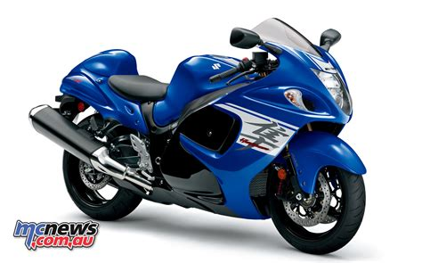 2017 suzuki hayabusa lands in oz mcnews au