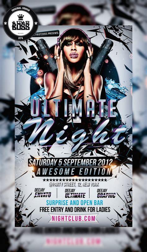 free templates for nightclub flyers 25 free photoshop party flyer templates designscrazed