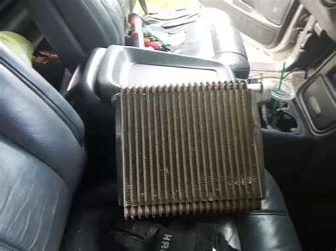 how to remove an evaporator from a 1994 lexus gs silverado evaporator replacement trick replace without removing dashboard youtube