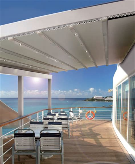 Retractable roof pergolas give modern shade to the hospitality industry