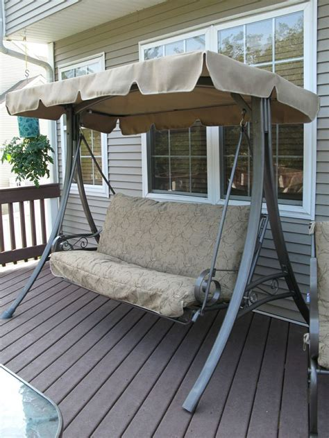 costco swing cushion replacement another refurbished swing from swing cushion covers http