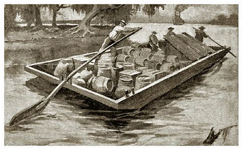 pioneer rowing boats history of flatboating and a charming educational film a