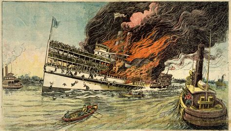 steamboat explosion sinking of the steamboat general slocum museum blogs
