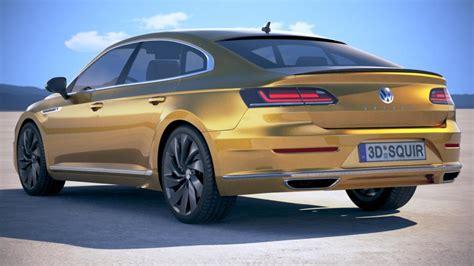 volkswagen aerton r line 2018 3d model cgstudio