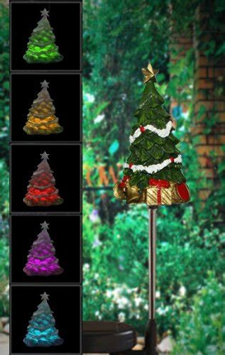 christmas trees yard stakes christmas wikii