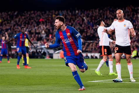 barcelona result barcelona vs valencia 2017 la liga final score 4 2