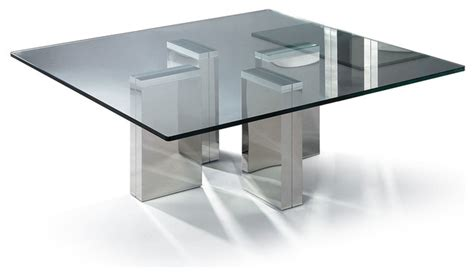 contemporary square glass coffee table modern square glass coffee table urbino modern coffee