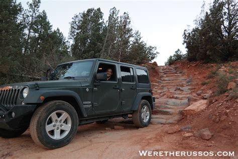Broken Arrow Jeep Broken Arrow Trail In Sedona Arizona 4x4 Road Adventure