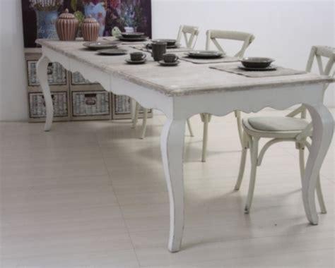 tavoli bianchi decapati tavolo provenzale allungabile mobili provenzali on line