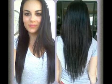 how to cut your own hair in v shape layers how to cut your hair at home v shape long layers