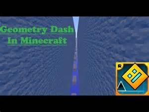 Minecraft geometry dash trailer youtube