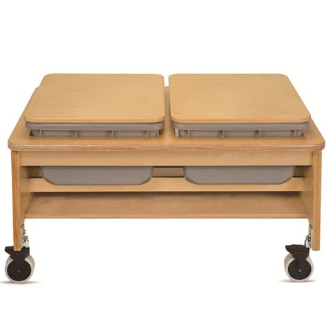 2 sand table plus 2 tub sand and water table ch4049 sensory