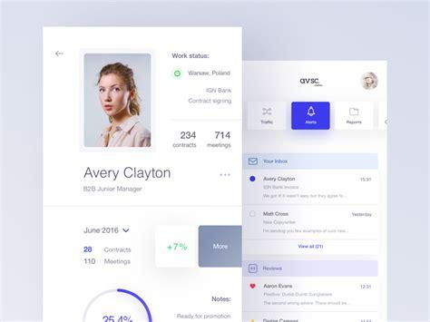 design brief user profile 50 user profile page design inspiration muzli design