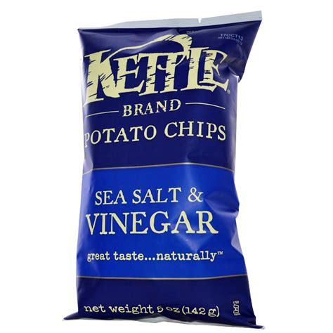 kettle foods potato chips sea salt vinegar 5 oz 142 g