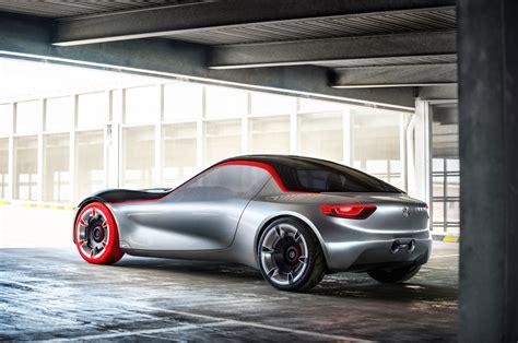 opel gt concept for geneva is an ultra lightweight sports car
