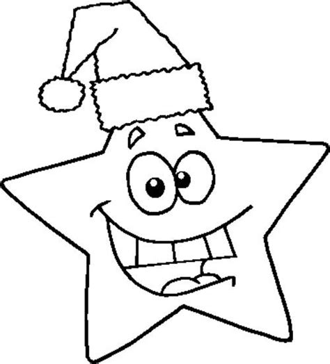 coloring page of a christmas star smile christmas star coloring page holidays christmas