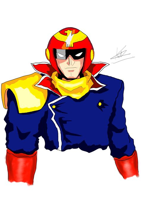 Anime F Zero by F Zero Captain Falcon By Kaiserkleylson On Deviantart