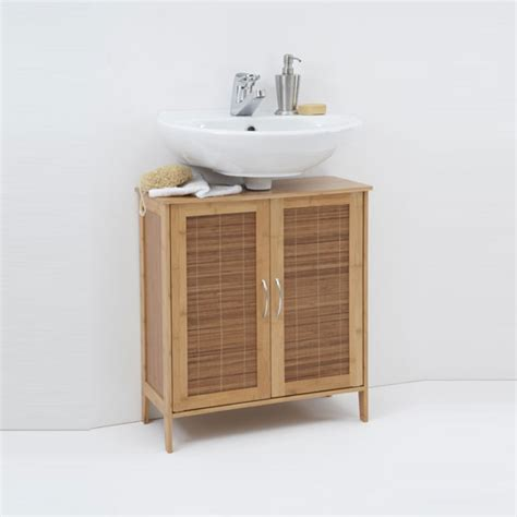 Bali Bathroom Furniture by Bali Solid Bamboo Bathroom Vanity