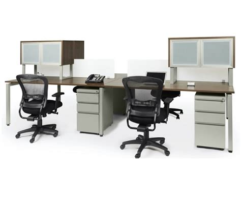 ndi office furniture ndi office furniture elements four person work station