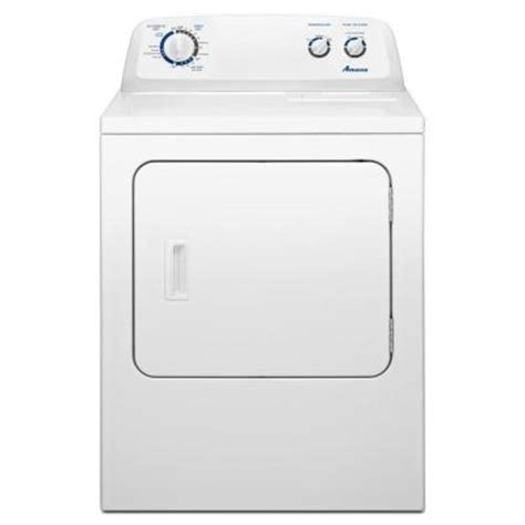 amana 7 0 cu ft gas dryer in white ngd4700yq the home