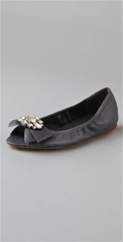 vera wang shoes flats vera wang lavender ballet flats in gray charcoal