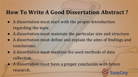 how to write a dissertation abstract dissertation abstract writing help
