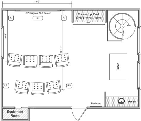 media room floor plans media room remodel need floor plan feedback avs forum