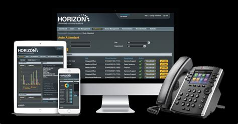 horizon hosted phone systems