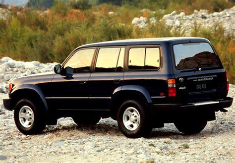 L Toyota Landcruiser Vx80 1997 2000 toyota land cruiser 80 us spec hz81v 1995 97 photos