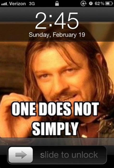 One Does Not Meme - image 258132 one does not simply walk into mordor