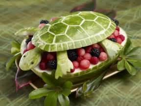 Nautical Themed St Birthday Party - fruit turned animal art 30 creative creations hongkiat