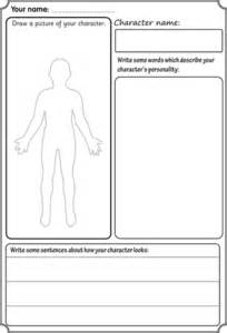 character description template ks1 character description ks1 resources tes