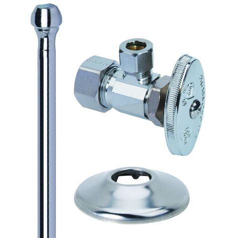 Brasscraft Faucet by Brasscraft Faucet Kit 1 2 In Nom Comp X 3 8 In O D