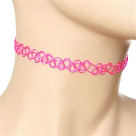 Buy Vintage Stretch Tattoo Choker Collar Elastic Necklace For Women   Crea Diem.com